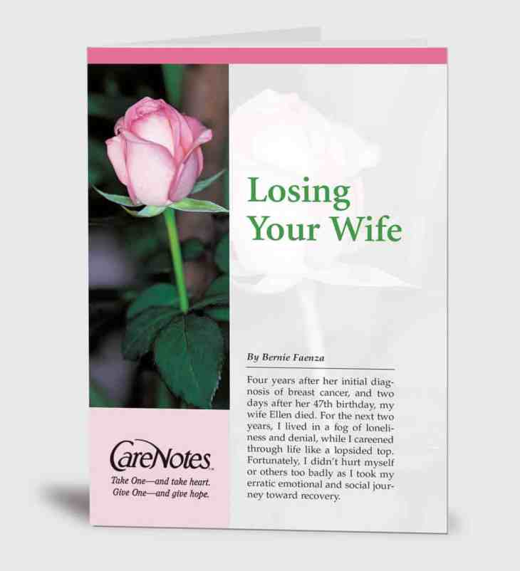 Losing Your Wife