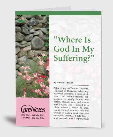 Where is God in My Suffering?