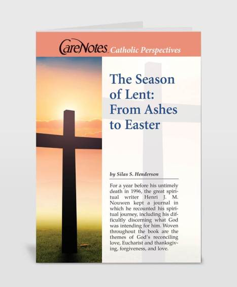 The Season of Lent: From Ashes to Easter