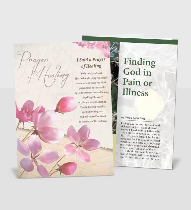 Prayer of Healing Card-and-a-CareNote Set