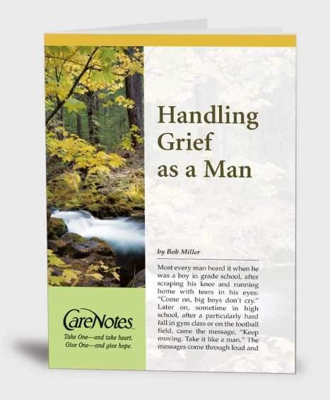 Handling Grief as a Man