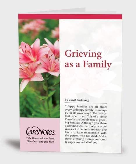 Grieving as a Family