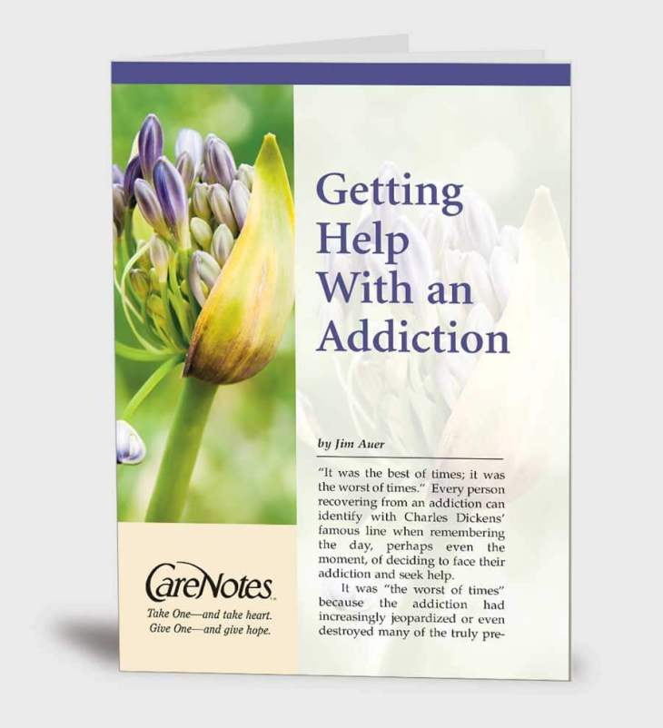 Getting Help With an Addiction