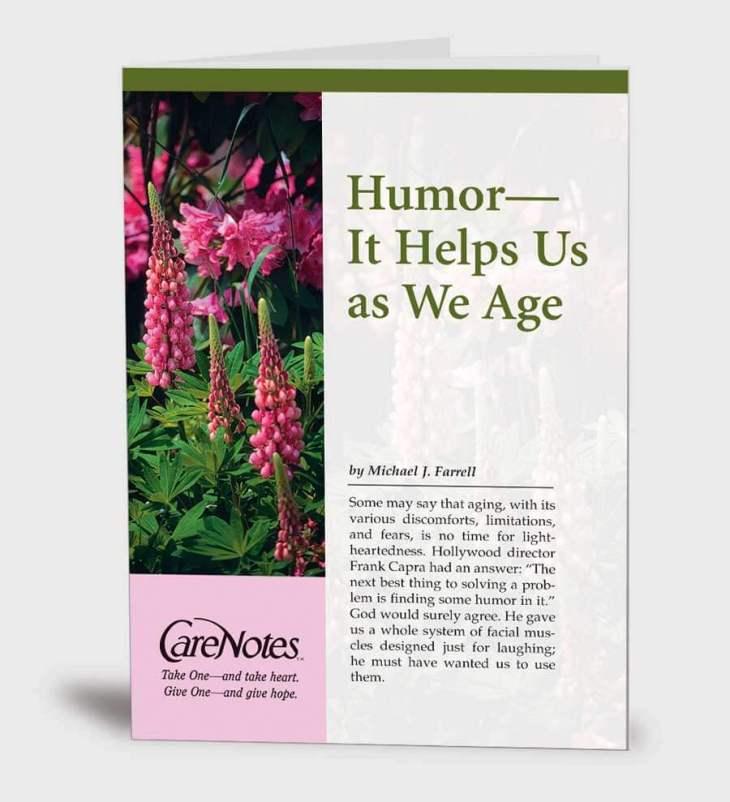 Humor — It Helps Us as We Age