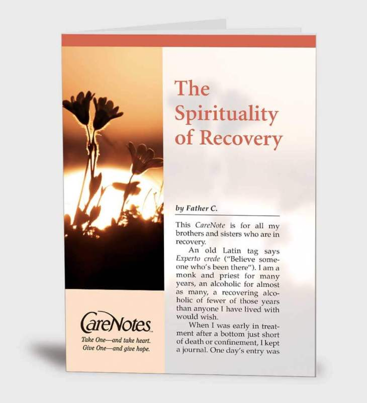 The Spirituality of Recovery