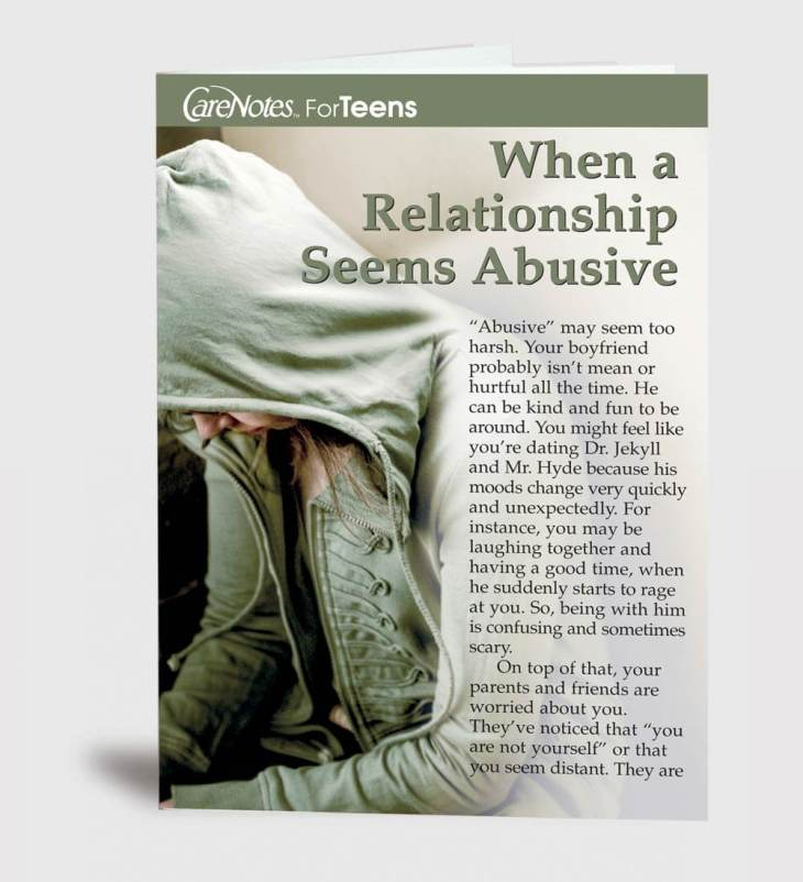 When a Relationship Seems Abusive