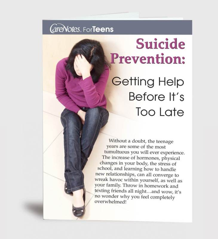 Suicide Prevention: Getting Help Before It's Too Late