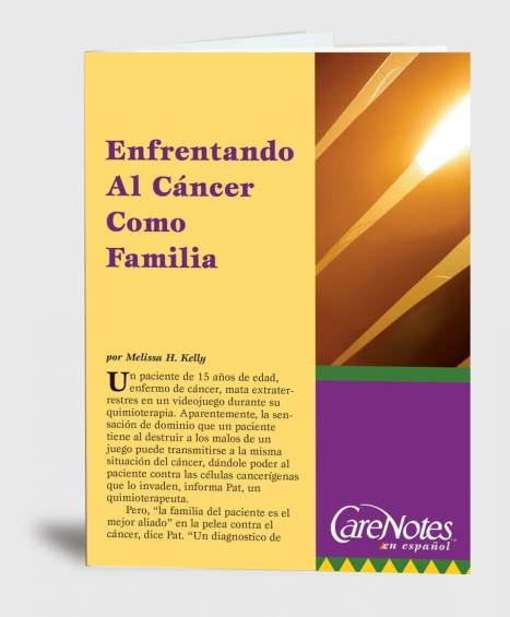 Facing Cancer as a Family  Spanish Version