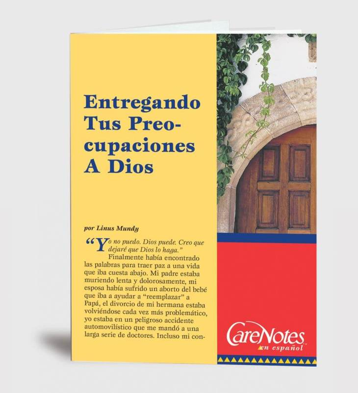 Giving Your Worries to God  Spanish Version