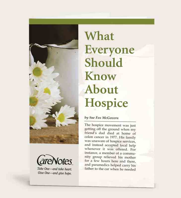 What Everyone Should Know About Hospice