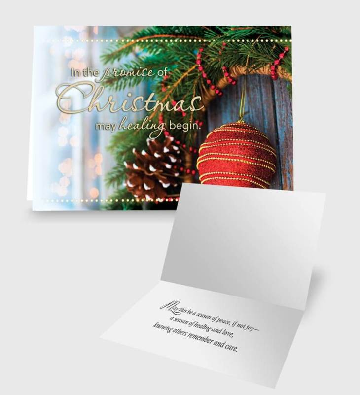 Promise of Christmas Care Card
