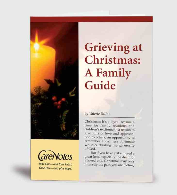 Grieving at Christmas: A Family Guide