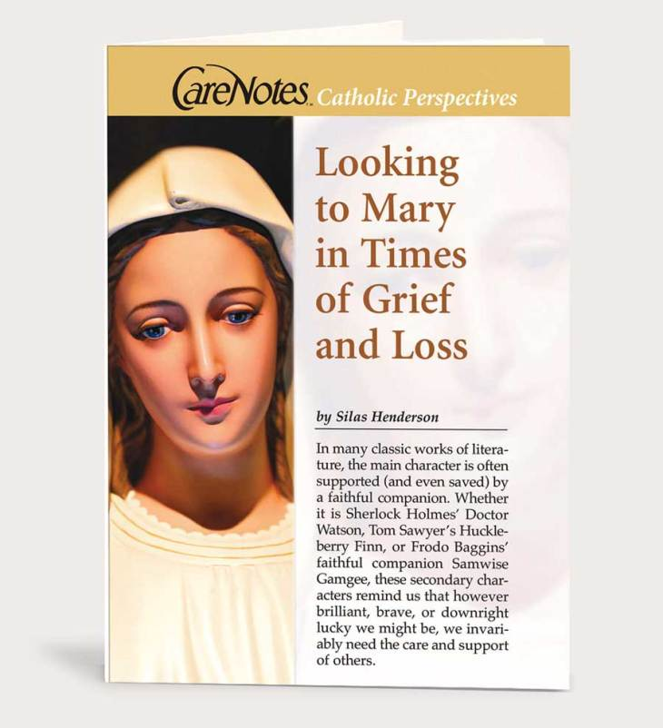 Looking to Mary in Times of Grief and Loss