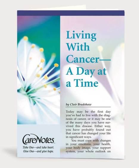 Living with Cancer – A Day at a Time