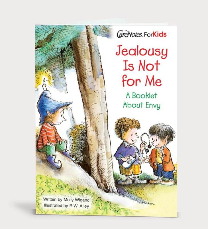 Jealousy Is Not for Me: A Booklet About Envy