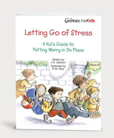 Letting Go of Stress: A Kid's Guide to Putting Worry in Its Place