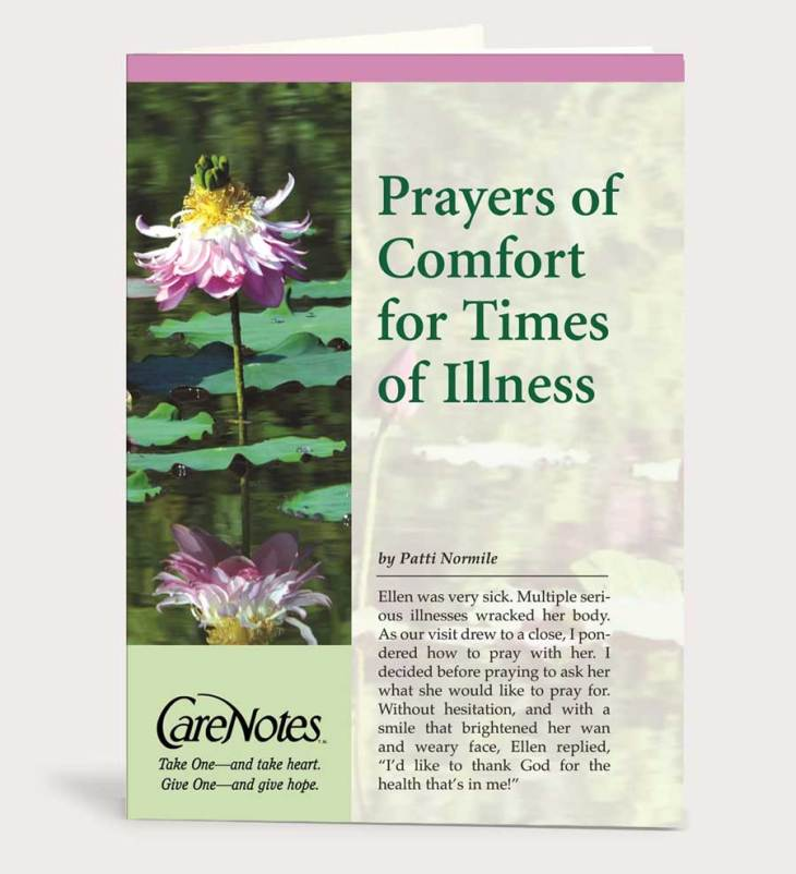 Prayers of Comfort for Times of Illness