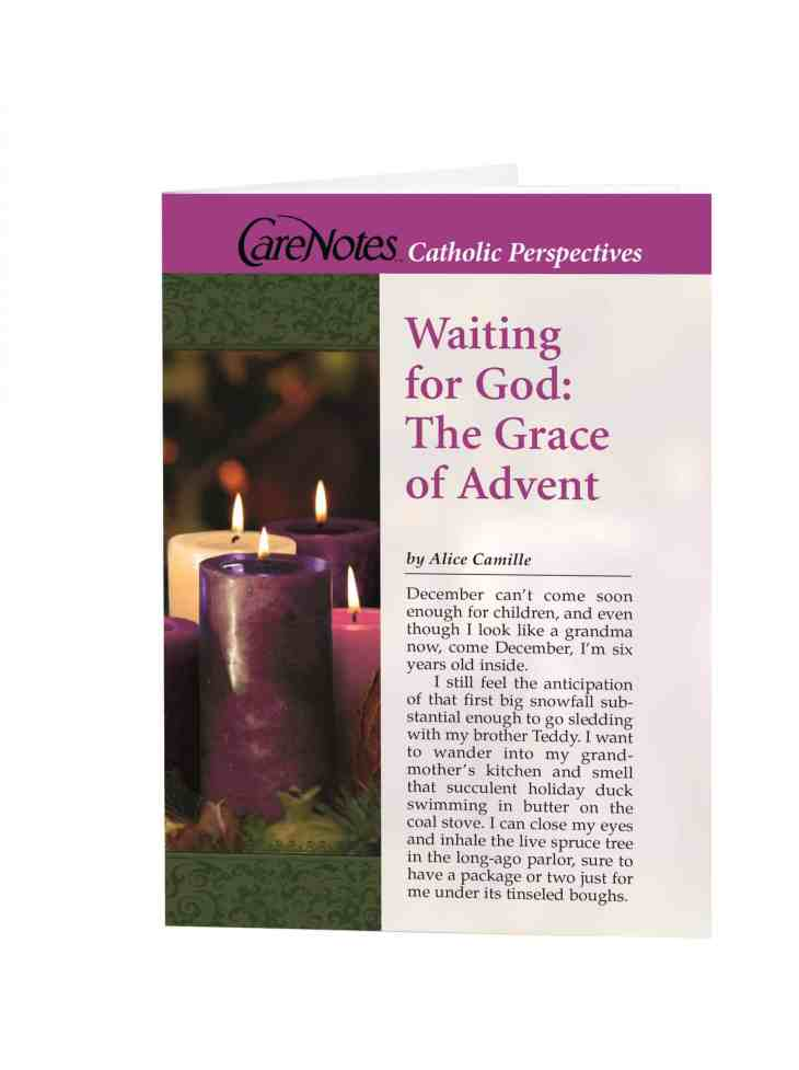 Waiting for God: The Grace of Advent