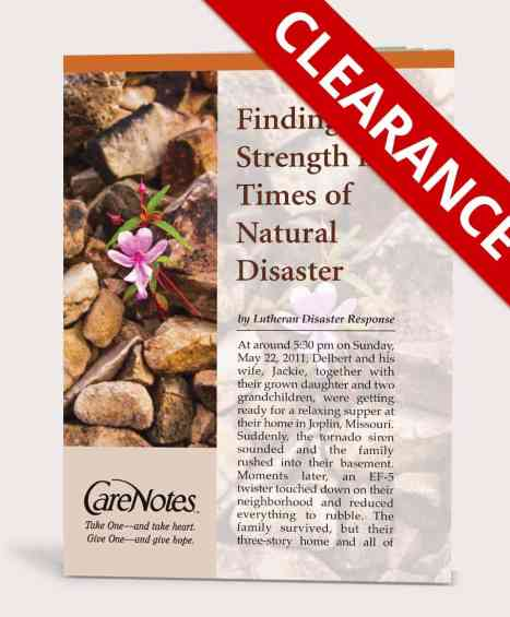 Finding Strength in Times of Natural Disaster