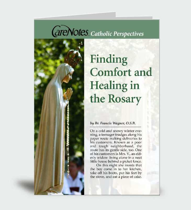 Finding Comfort  and Healing in the Rosary