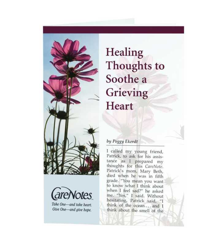 Healing Thoughts to Soothe a Grieving Heart