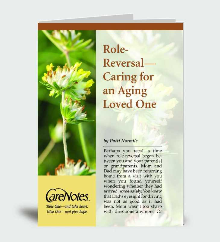 Role-Reversal: Caring for an Aging Loved One