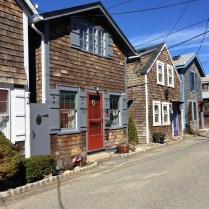 Adorable row of cottages