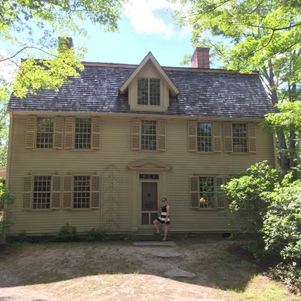 The Old Manse from the front