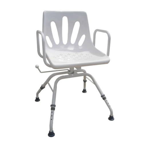 Swivel Shower Chair perfect for low mobility patients in the shower