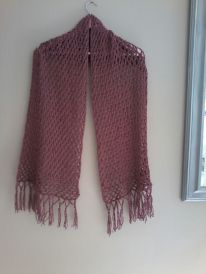 photo 1.JPG Dusty Pink shawl