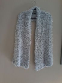 photo 4.JPG Large Fluffy Shawl