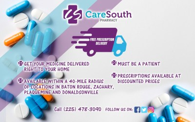 CareSouth Pharmacy Offering Free Prescription Delivery Service