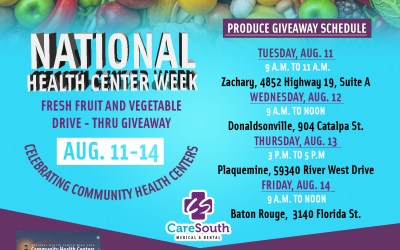 CareSouth hosting fresh fruit and vegetables giveaway