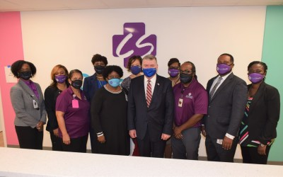 HRSA Administrator Tom Engels visits CareSouth