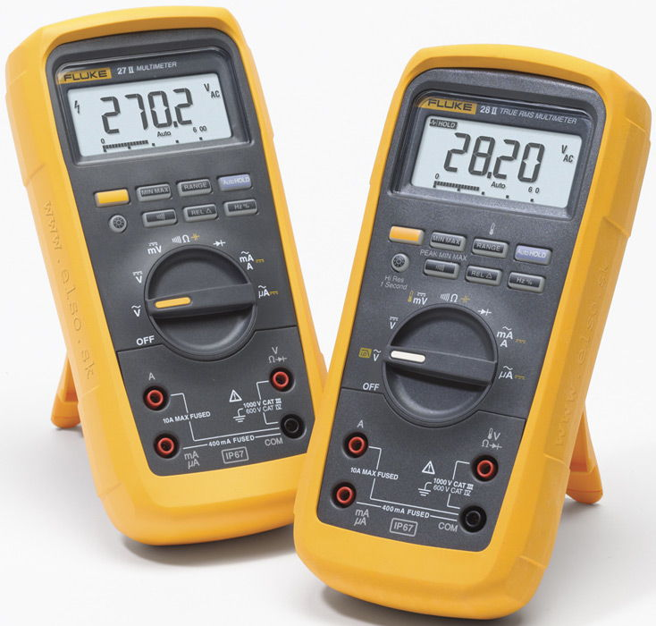 multimeters.