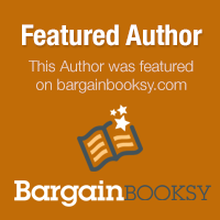 This author was featured on bargainbooksy.com