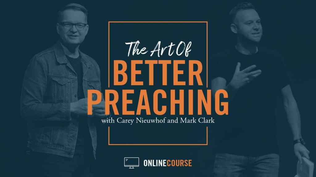 art of better preaching