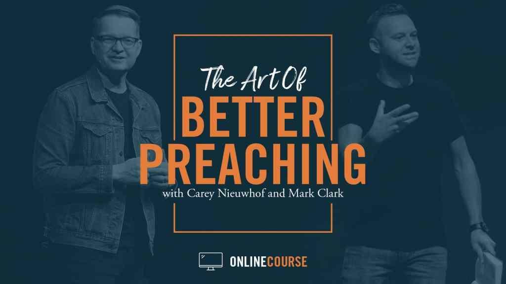 art of better preaching