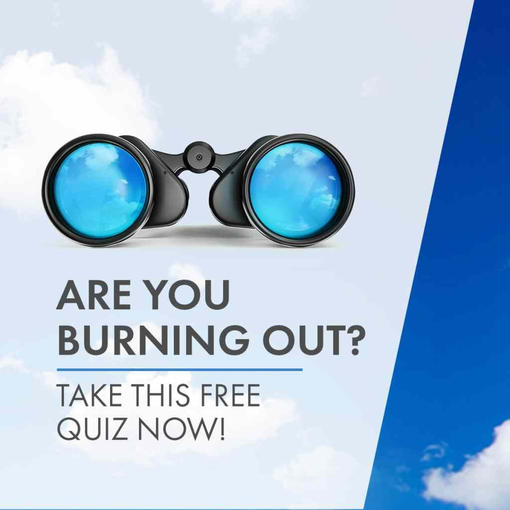 Burnout Quiz Ad