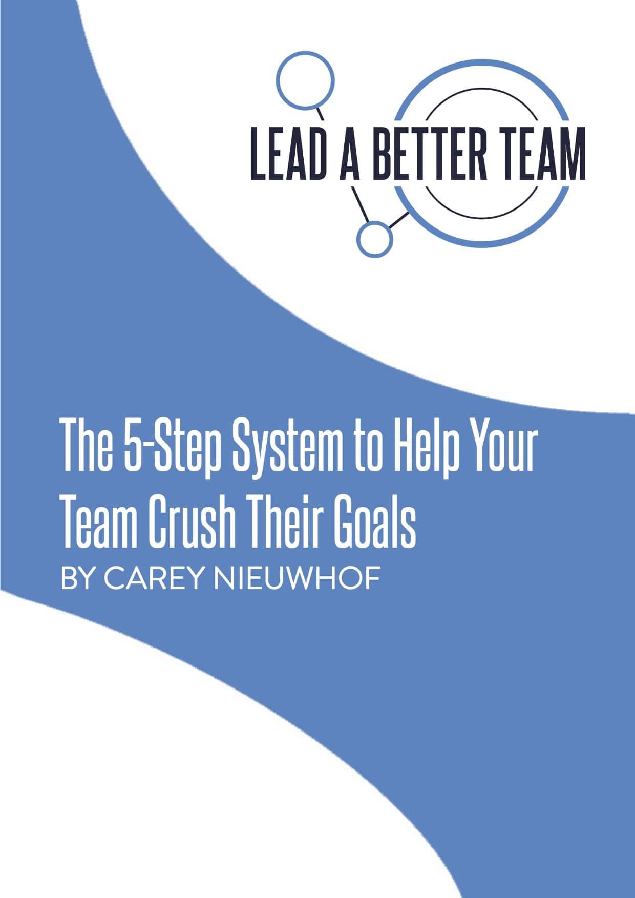 Help Your Team Crush Their Goals Teaching Video
