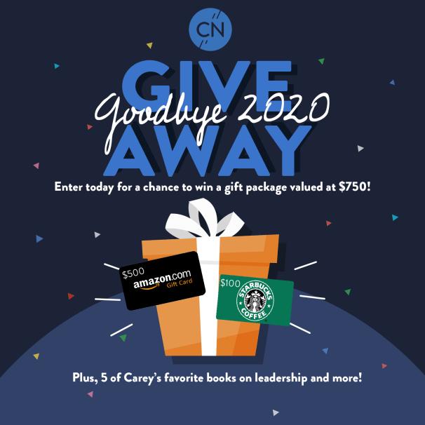 Goodbye 2020 Giveaway