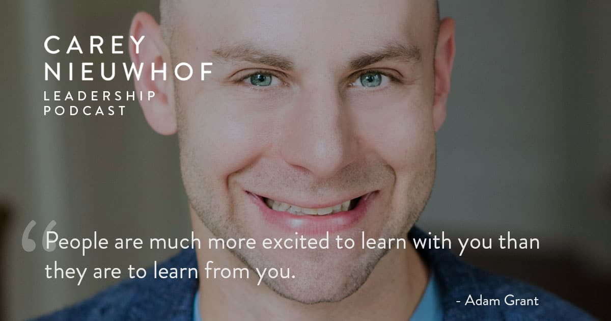 CNLP 405: Adam Grant Reinvents Preaching and Apologetics for the 21st Century, Explains How Conspiracy Theories Take Hold, and Shows You How to Get Out of Your Echo Chamber