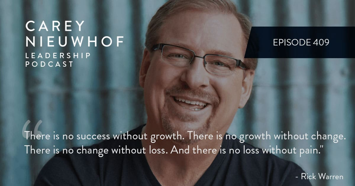 CNLP 409: Rick Warren Opens Up About the Coming Tsunami of Grief, Handling Personal Tragedy, and How Saddleback Grew During the Pandemic