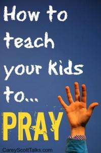 teach to pray