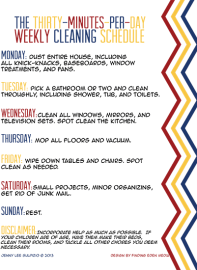 The-Thirty-Minutes-Per-Day-Weekly-Cleaning-Schedule-Graphic