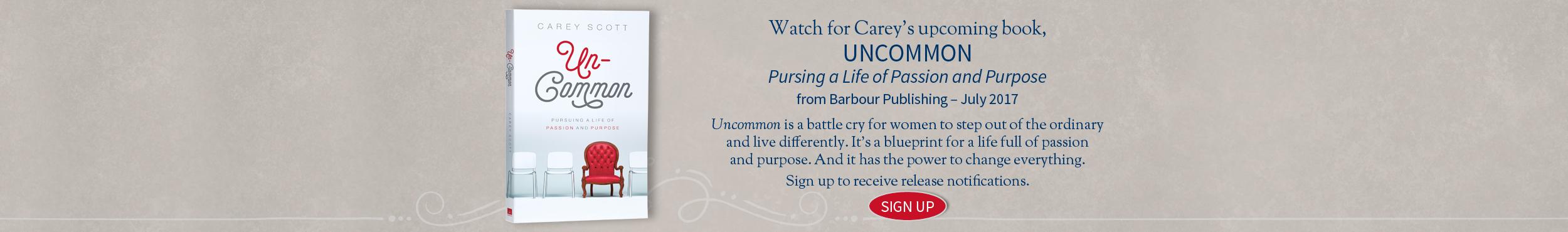 Carey Scott - Uncommon Book