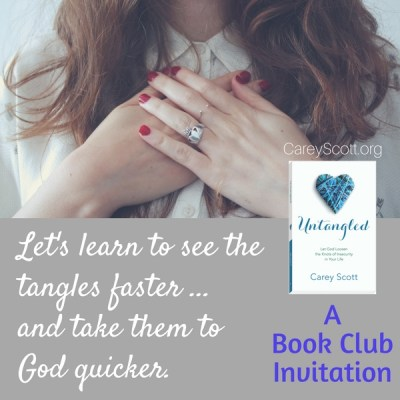 Untangled Book Club Invitation (and why I need a refresher course)