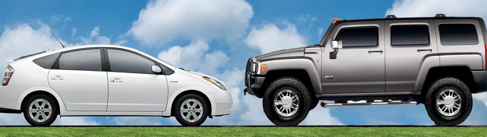 Urban Myth or Truth The Hummer Vs Prius Environmental Debate