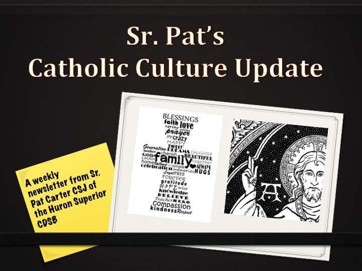 Catholic Culture Update for the Week Starting October 6, 2013