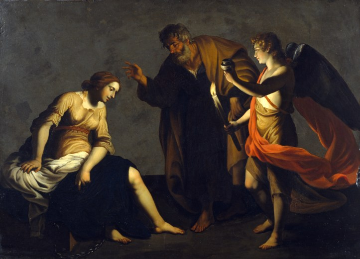 Alessandro_Turchi_-_Saint_Agatha_Attended_by_Saint_Peter_and_an_Angel_in_Prison_-_Walters_37552.jpg